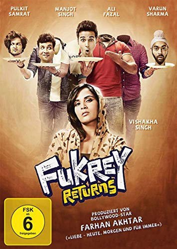 Fukrey Returns [DVD-Video]